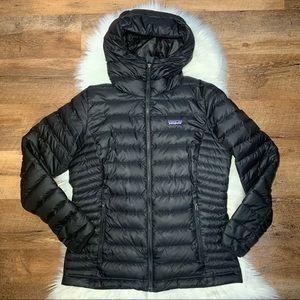 🌸 Patagonia down hoodie jacket black